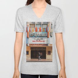 Orpheum Theater Los Angeles Unisex V-Neck