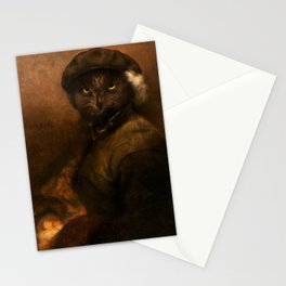 Rembrandt Owl Stationery Cards