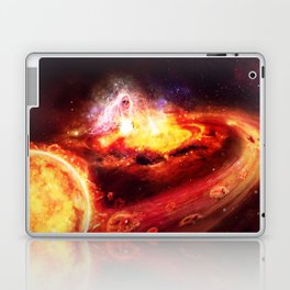 Liberate te ex inferis. Laptop & iPad Skin