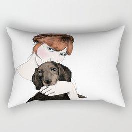 Emily and Arthur Miller Rectangular Pillow
