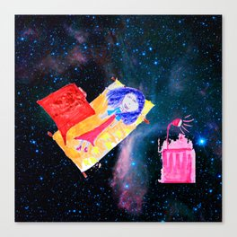Τhe Universe is our Ηome | Kids Room up to the Space | Cosmos Canvas Print