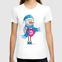 snowman T-shirts featuring Snowman by solomnikov