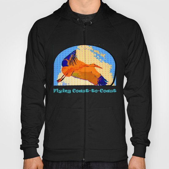Flying Coast to Coast Hoody