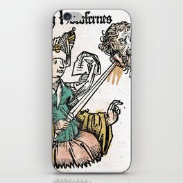 Judith and Holofernes iPhone Skin
