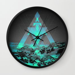 Neither Real Nor Imaginary II Wall Clock