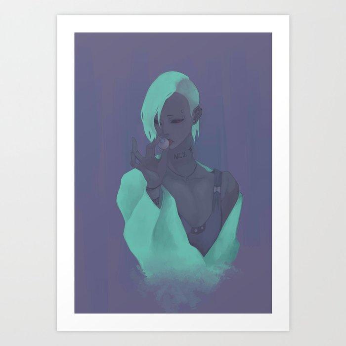 uta  Art Print