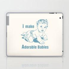 I Make Adorable Babies Laptop & iPad Skin