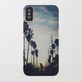 December evening iPhone Case