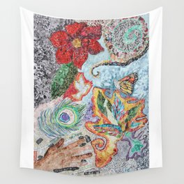 Rebirth of the Spirit Wall Tapestry