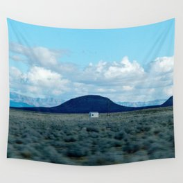 in transit Wall Tapestry