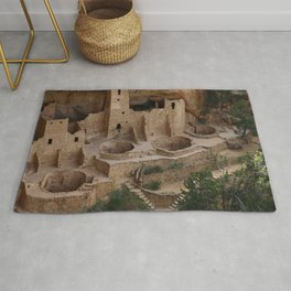 Cliff Palace Overview Rug
