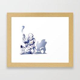 Flower-bot Framed Art Print