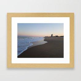 Virginia Beach Oceanfront Framed Art Print