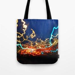 Minneapolis at Lightspeed Tote Bag