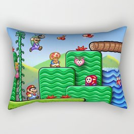 Super Mario 2 Rectangular Pillow