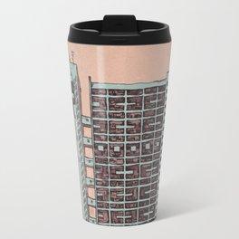 Brutalist Architecture Trellick Tower  Travel Mug