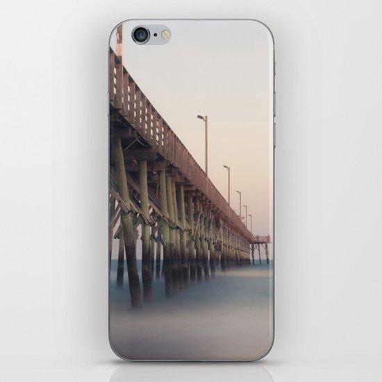 Pier at Dusk iPhone Skin