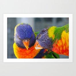 I share with you Art Print