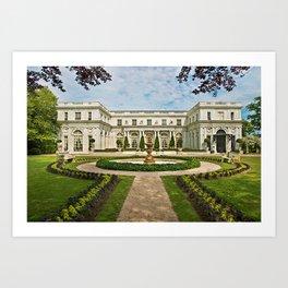 Newport Mansions, Rhode Island - Rosecliff - Original Great Gatsby Mansion by Jeanpaul Ferro Art Print