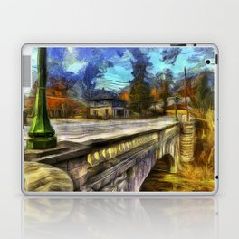 The Headless Horseman Bridge Van gogh Laptop & iPad Skin