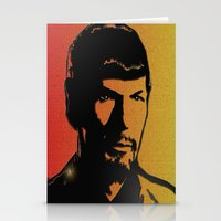 spock Stationery Cards featuring Spock by SVA🌺Silvia Van