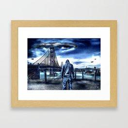 Poster - Visitors Framed Art Print