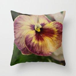 Viola vintage style Throw Pillow