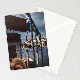 Peaking through | Mytilini Lesvos Greece Travel Phototgraphy | City view Photo Print Stationery Cards