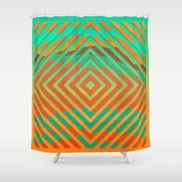 TOPOGRAPHY 2017-021 Shower Curtain