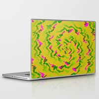 fabric Laptop & iPad Skins featuring Fabric R by Vitta