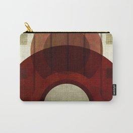 """""""Retro Abstract Big Circle"""" Carry-All Pouch"""