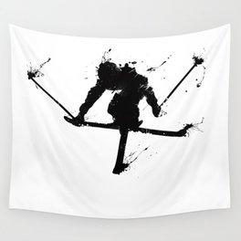 Ski jumper Wall Tapestry