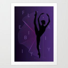 Flexibility Art Print