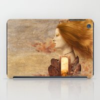 fez iPad Cases featuring Persephone by Diogo Verissimo