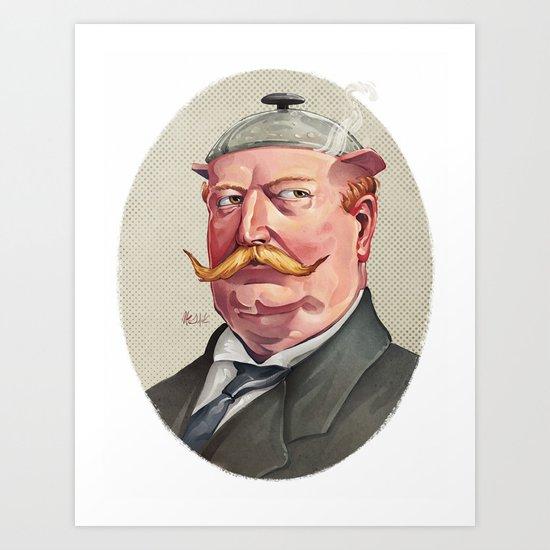 "William ""The Crock-Pot"" Taft Art Print"