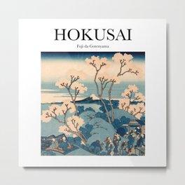 Hokusai - Fuji da Gotenyama Metal Print