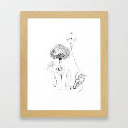 Monsieur Grant et le ballon fou Framed Art Print