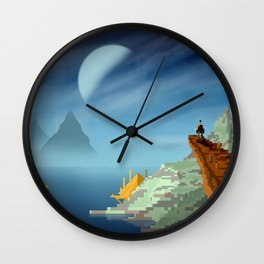 The View From Up Here Wall Clock
