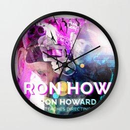 Ron Howard Teaches Directing Wall Clock