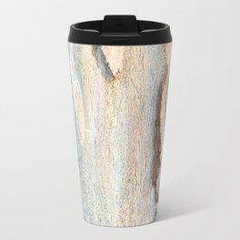 Eucalyptus tree bark and wood Travel Mug