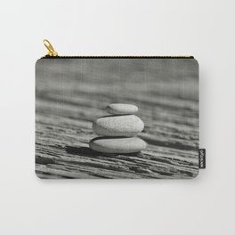 Stacked pebble Carry-All Pouch
