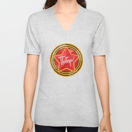 Holiday - 9 may. Victory day. Anniversary of Victory in Great Patriotic War. Unisex V-Neck
