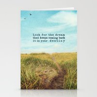 destiny Stationery Cards featuring destiny by Sylvia Cook Photography
