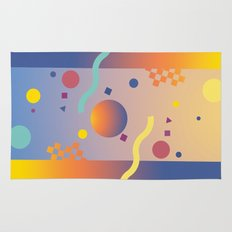 Graphic Abstraction Rug