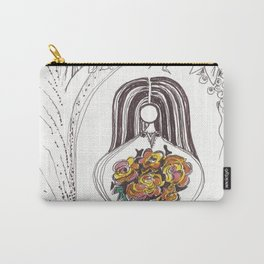 Red Roses by Christiane Carry-All Pouch