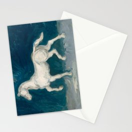 Horse by Vincent van Gogh, 1886 Stationery Cards