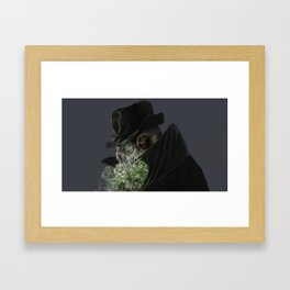 Ghost Framed Art Print