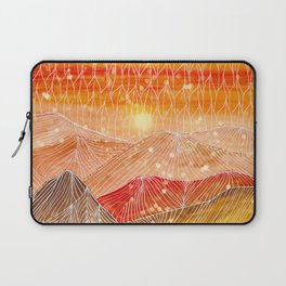 Lines in the mountains XXIV Laptop Sleeve