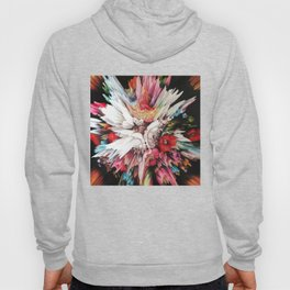 Floral Glitch II Hoody