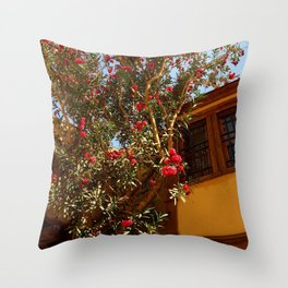 The Flower tree Throw Pillow